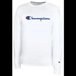 Champion Tops - NWT! Champion Long Sleeve Crew Neck T-Shirt